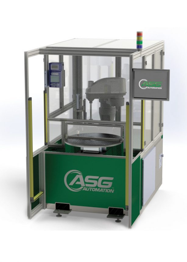 ASG AG-30 Automated Turntable System